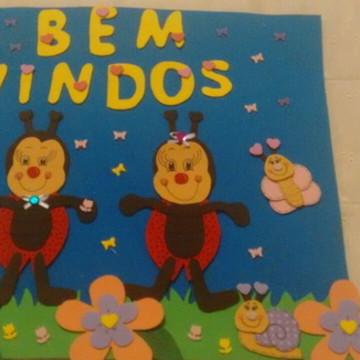 Painel Escolar De Boas Vindas Em Eva Elo7