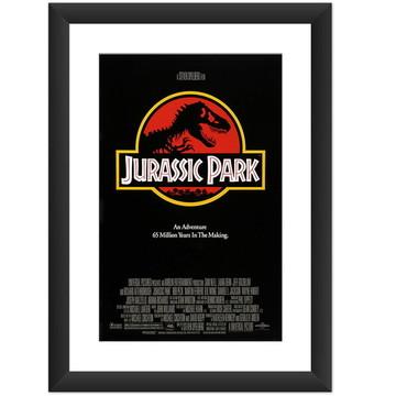 Quadro Filme Jurassic Park Cinema Arte