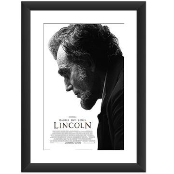 Quadro Filme Lincoln Cinema Decoracao