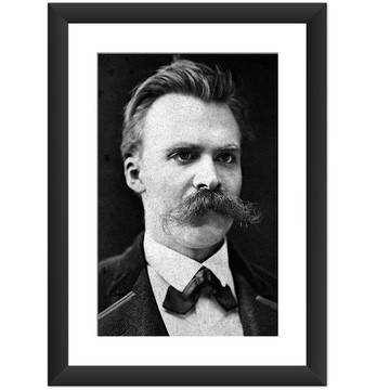 Quadro Nietzsche Filosofia Decoracao Art