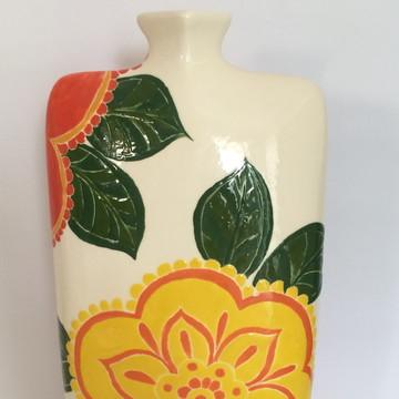 Vaso Decorativo Floral