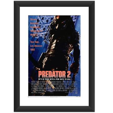 Quadro Filme O Predador Terror Cinema 80