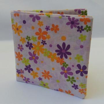 Carteira em origami de tecido floral II