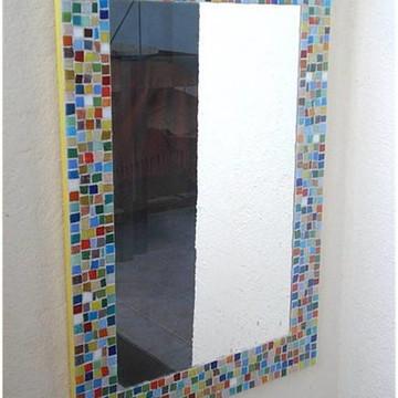 Espelho Multicolorido
