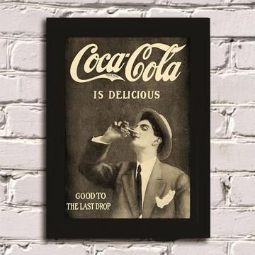 Quadro Coca-Cola Vintage