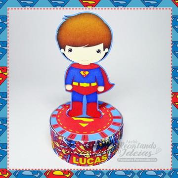Latinha 3D Superman