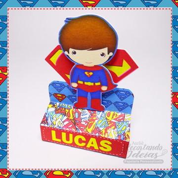 Porta Chocolate Superman