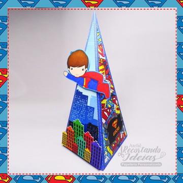 Caixa Pirâmide Superman