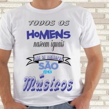 camiseta musicos profissões