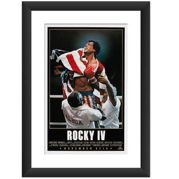 Quadro Filme Rocky IV Retro Vintage Arte