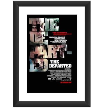 Quadro Filme Os Infiltrados Cinema Arte