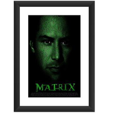 Quadro Filme Matrix Cinema Arte Cult Pop