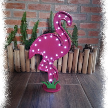 Luminoso flamingo