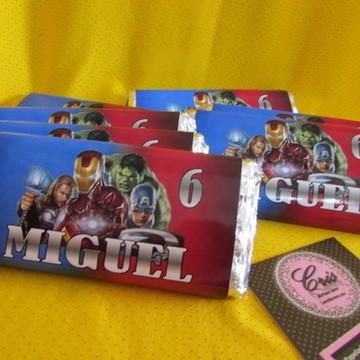 Tablete Chocolate Aerado Todos os Temas