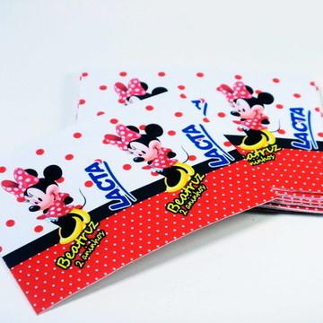 Rótulos p/ Chocolates Minnie