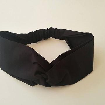 faixa headband cabelo turbante tecido