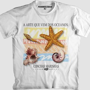 12e31c5e4 Camisa CONCHAS MARINHAS
