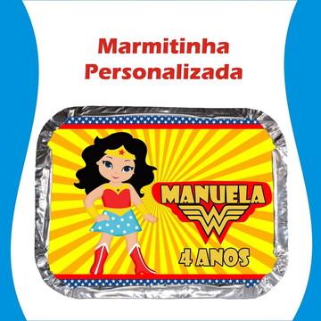 Marmitinha Mulher Maravilha Cute