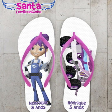 Chinelo Infantil Blaze and the Monster