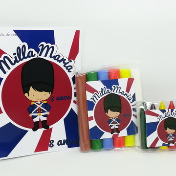 Baby Kit colorir e Modelar - soldadinho