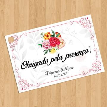 Tags para Bem-casado ou lembrança