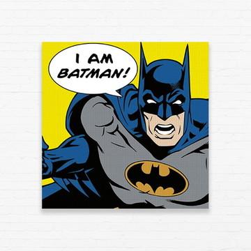 Quadrinho 15x15 I Am Batman