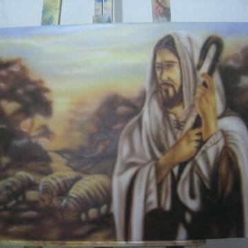 Quadro Jesus Bom Pastor