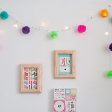 Cordão de Luz Pom Pom Colors