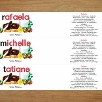 Ades. Nutella 140g - madrinha individual