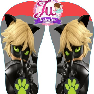 Chinelo Cat noir