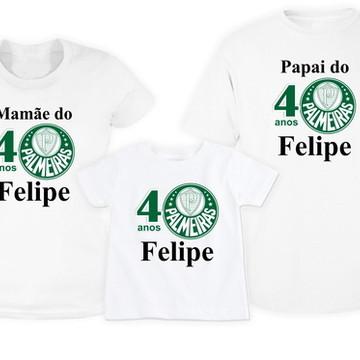 Camisetas Aniversário Times de Futebol