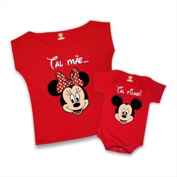 d791f194d4c7bf Camiseta Mae e Filho Mickey Magico | Elo7