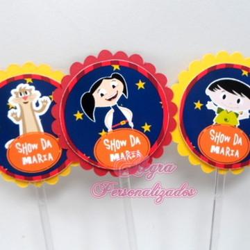 Toppers Personalizados Show da Luna