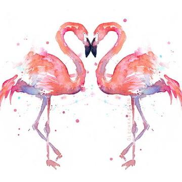 Painel Flamingo 1,50x1M