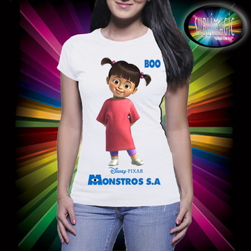 Camiseta Boo Monstros S.A
