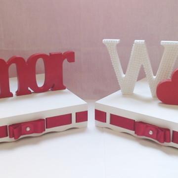 Kit decoração noivado/casamento