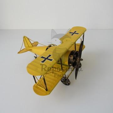 Locação - Avião Amarelo (Metal)