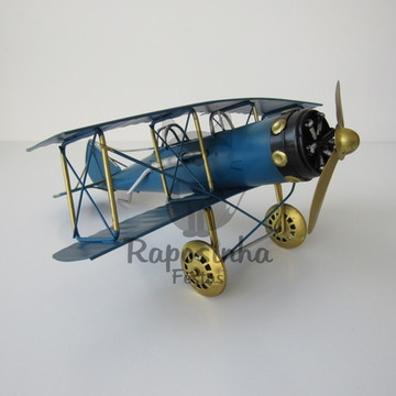 Locação - Avião Azul (Metal)