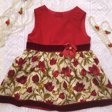 Vestido Infantil 100% algodao