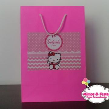 Sacola Personalizada Hello Kitty