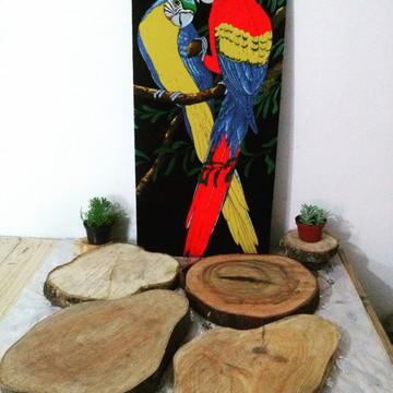 tabua madeira 40 cm a 46 cm,Frete Gratis