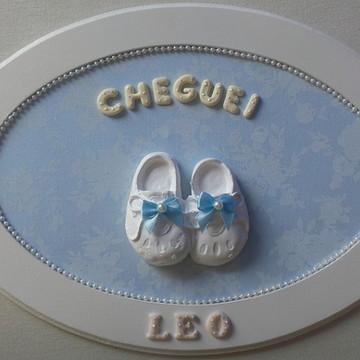 Enfeite Porta Maternidade Cheguei