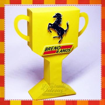Caixa Trofeu Ferrari
