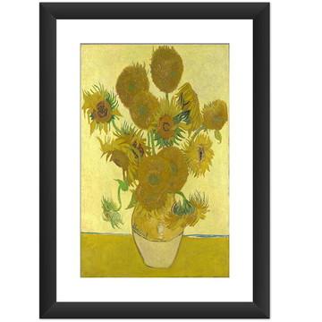Quadro Van Gogh Girassois Obras Famosas
