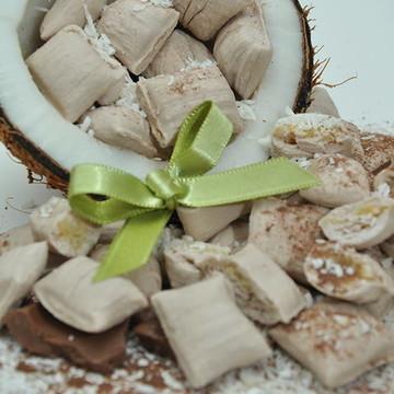 Bala de Coco sabor chocolate