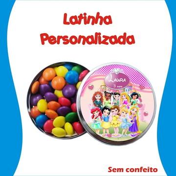 Latinha Princesas Disney Cute