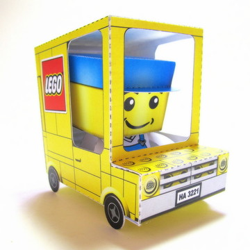 Lembrancinha Lego