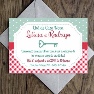 Arte Convite Open House / Casa Nova 0001