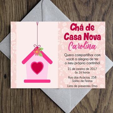 Arte Convite Open House / Casa Nova 0005