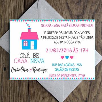 Arte Convite Open House / Casa Nova 0006